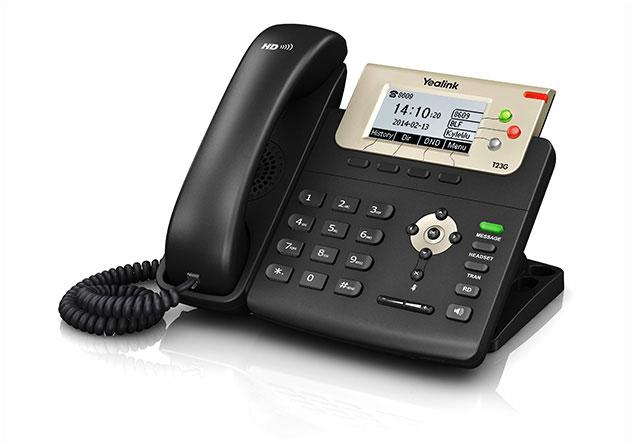 טלפון ip yealink T23P/G